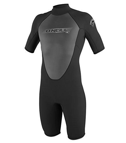 O'Neill Wetsuits Herren Neoprenanzug Reactor 2 mm Spring Wetsuit, Black, M, 3799-A05