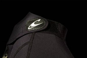 O'Neill Wetsuits Herren Neoprenanzug Reactor 3/2 mm Full Wetsuit, Black, L, 3798-A05 - 4