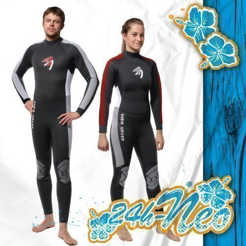ASCAN Overall 5 mm Wave Semidry Neoprenanzug Surfanzug SURF KITE WAKE, 48