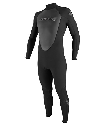 O'Neill Wetsuits Herren Neoprenanzug Reactor 3/2 mm Full Wetsuit, Black, 3XL