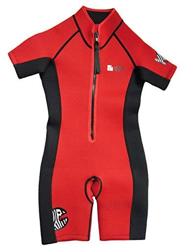 iQ-UV Kinder UV Kleidung Shortie, Red, 92